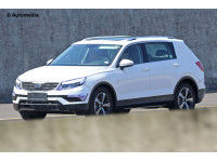 Volkswagen Tiguan LWB spied on test again