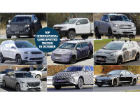 Top Nine International cars spotted testing in October 2017