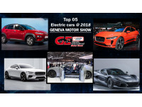 Top Five Electric cars showcased at 2018 Geneva Motor Show