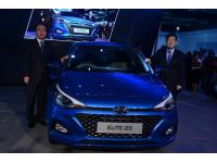Hyundai Elite i20 facelift and Ioniq EV lead charge at Hyundai stall