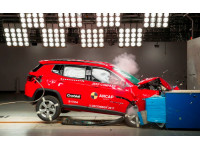 India manufactured Jeep Compass awarded 5-stars in ANCAP