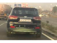 Kia spied testing the Sorento in India
