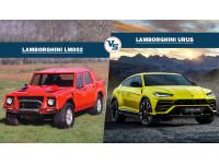 Spec comparo: Lamborghini Urus Vs Lamborghini LM002