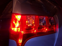 Mahindra XUV500 Tail Light Pic