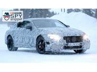 All-new Mercedes-AMG GT four-door S spied testing in snow