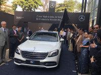 Made In India diesel engine unveiled by Mercedes-Benz