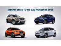 India-bound SUVs for 2018