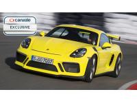 New Porsche 718 Cayman GT4 RS rendered
