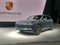 Tokyo Motor Show 2017: Porsche Cayenne unveiled