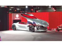 Renault showcases the Trezor electric sportscar concept