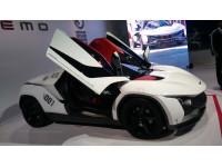 TAMO Racemo unveiled at 2018 Auto Expo