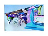 Blueprints of new mid-engine C8 Corvette leaked