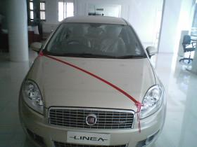 Linea Launched - Actual Photos of the Car   CarTrade.com