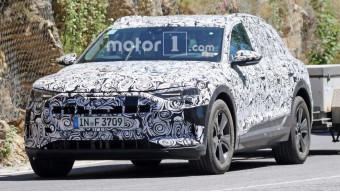 Audi spotted testing its e-tron EV