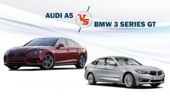 Audi A5 Vs BMW 3 Series GT - Spec Comparison