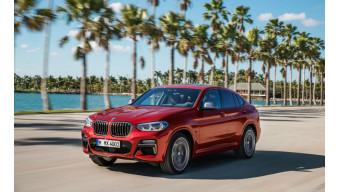 Next gen BMW X4 spotted testing