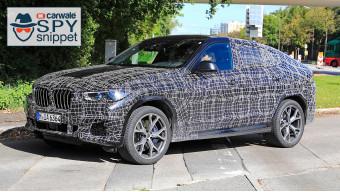 India-bound 2020 BMW X6 spied
