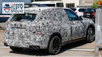 Next gen BMW X5 M spotted testing
