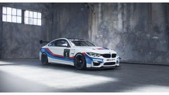 BMW reveals the M4 GT4 race car