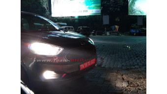 Ford Figo facelift spied testing