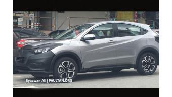 Honda HR-V 2018 facelift spotted on test