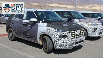 Compact Hyundai SUV for developed markets spotted on test in the US