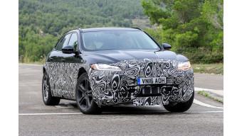 Jaguar I-Pace test vehicle spotted testing