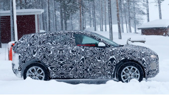 Jaguar begins testing the E-Pace in cold weather
