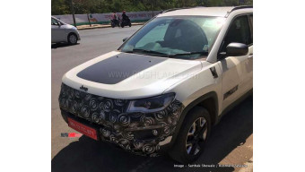 Jeep Compass trail hawk spied testing