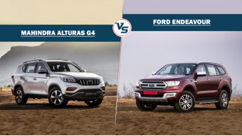 Spec comparison Mahindra Alturas G4 Vs Ford Endeavour