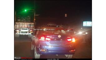Maruti Suzuki Ciaz facelift spotted sans camouflage
