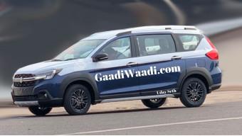 Maruti Suzuki XL6 captain seats leaked