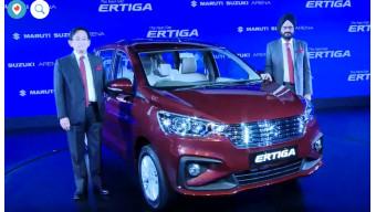 Maruti Suzuki launched the new Ertiga in India at Rs 7.44 lakhs