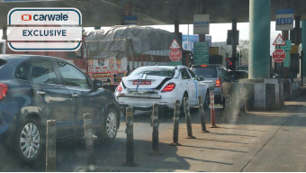 2018 Mercedes-Benz C-Class spied on test