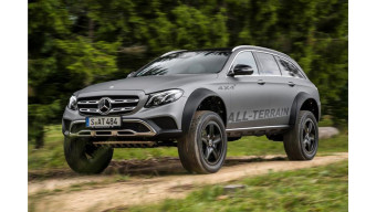Mercedes-Benz E-Class all-terrain 4x4 concept images surface