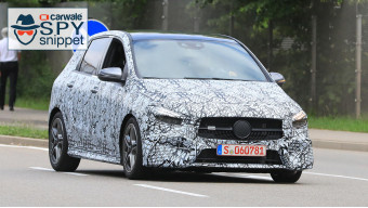2019 Mercedes Benz B-Class spied testing