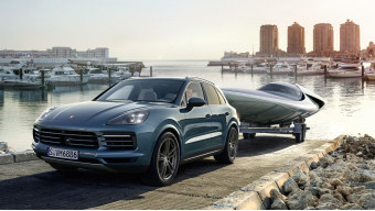 New Porsche Cayenne Turbo detailed