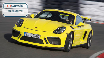 New Porsche 718 Cayman GT4 RS rendered