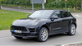 Refreshed Porsche Macan hits the road for tests