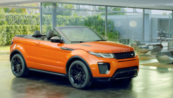 Range Rover Evoque Convertible all details revealed