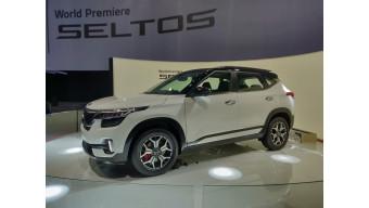 Kia Seltos revealed in India
