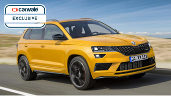 India-bound Skoda Karoq RS rendered