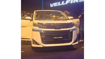 Toyota showcases Vellfire in India