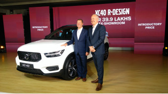 Volvo launches the XC40 in India at Rs 39.9 lakhs