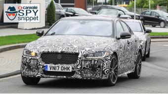 Jaguar continues testing XE SVR