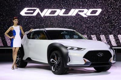 11th Seoul Motor Show - The much anticipated Hyundai Enduro Concept showcased | CarTrade.com