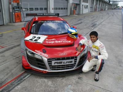Aditya Patel to take part in Audi R8 LMS Cup 2015 | CarTrade.com