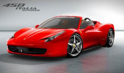Ferrari to showcase new age 458 Italia Spider at Frankfurt Motor Show-2011 | CarTrade.com