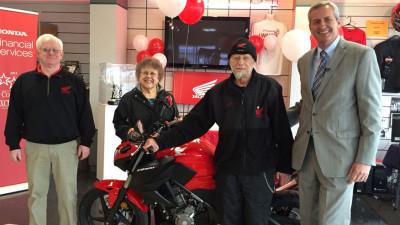 Honda surprises loyal Maryland native with a free motorcycle | CarTrade.com