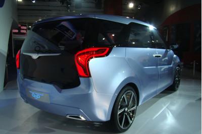 Auto Expo 2012: Images of Hyundai HND7  Hexa Space Concept, the next MPV Challenger? | CarTrade.com